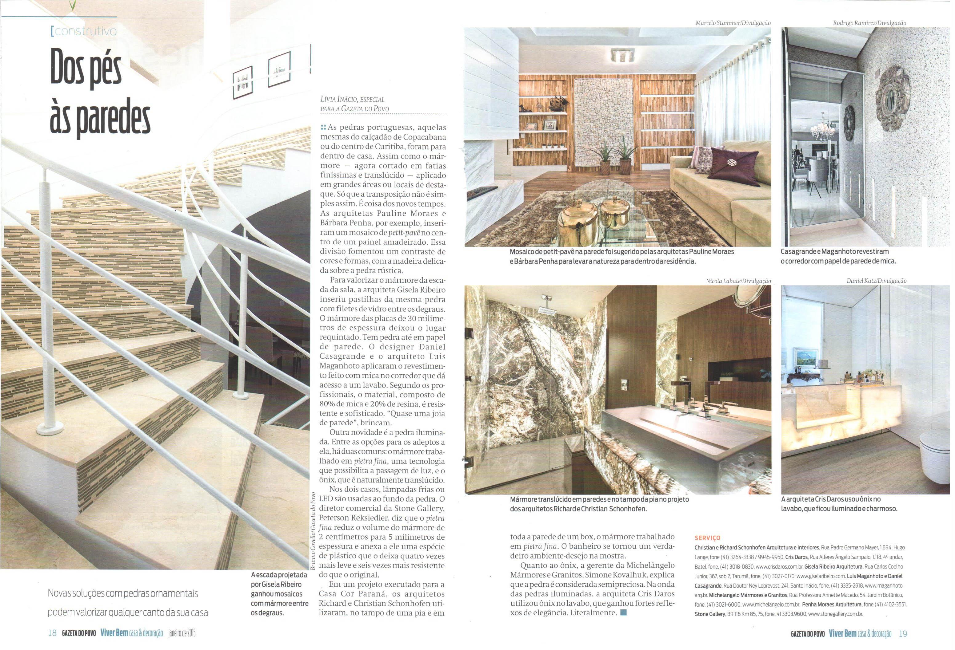 Solução em projeto é destaque na revista Haus da Gazeta do Povo